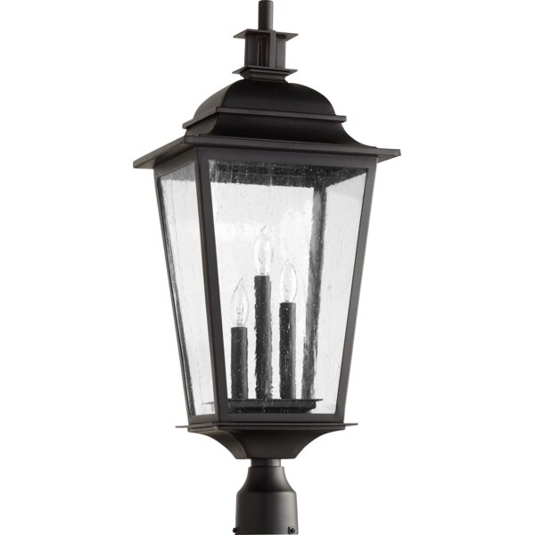 Bridport Outdoor 3-Light Lantern Head by Canora Grey
