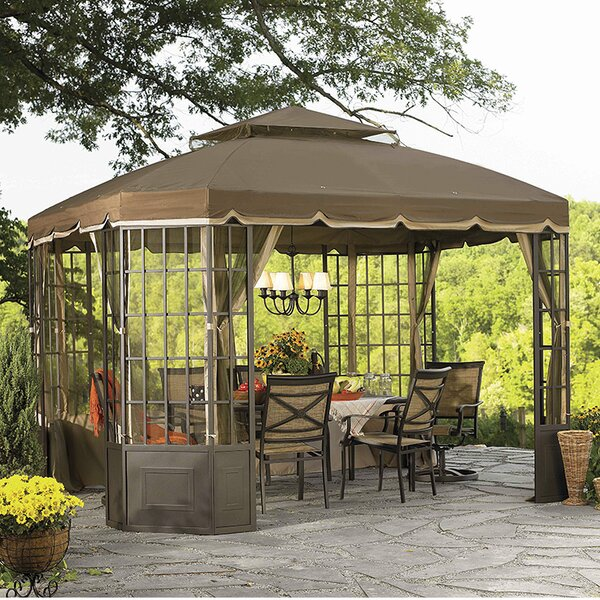 Replacement Canopy for Go Bay Window Gazebo by Sunjoy