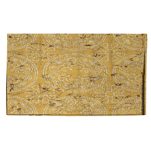 Theo Yellow Area Rug by World Menagerie