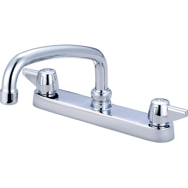Double Handle Kitchen Faucet by Central Brass Central Brass