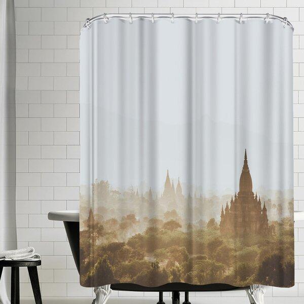 Luke Gram Bagan Myanmar Shower Curtain by East Urban Home