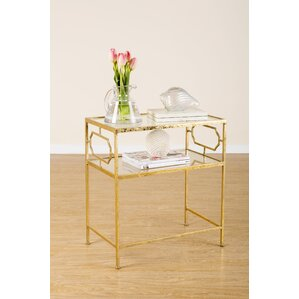 J Statements Iris End Table