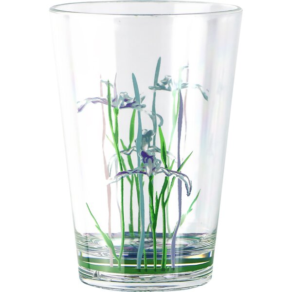 Iris Shadow 8 oz. Plastic Water Glass (Set of 6) by Corelle