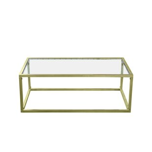 Big Save Colbourne Gilt Coffee Table By Everly Quinn