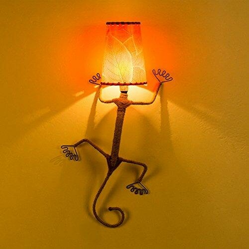 Hester Street Metal Wire Article Lizard 25 Wall Lamp by Zoomie Kids