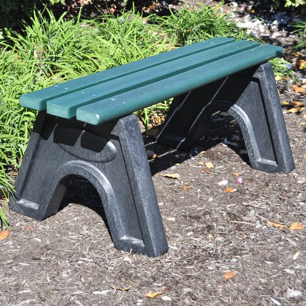 Sport Recycled Plastic Park Bench by Frog Furnishings