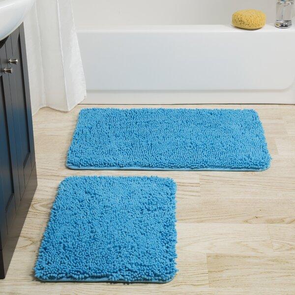 Josef Rectangle Non-Slip piece Bath Rug Set