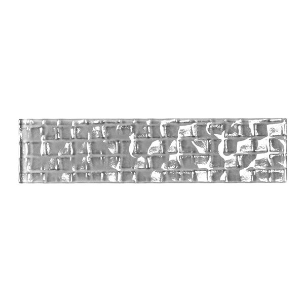 Metro 2 x 8 Glass Subway Tile in Pebble by Abolos