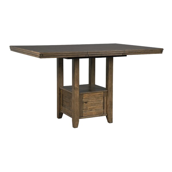 Fia Counter Height Drop Leaf Dining Table By Millwood Pines