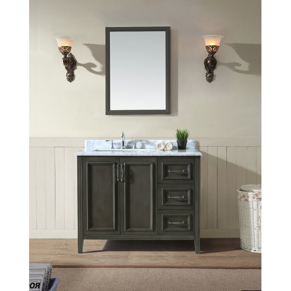 Schulenburg 42 Single Bathroom Vanity Set by Greyleigh