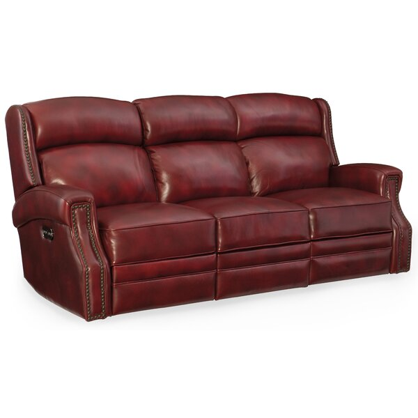 Carlisle Power Motion Sofa with Power Headrest by Hooker Furniture