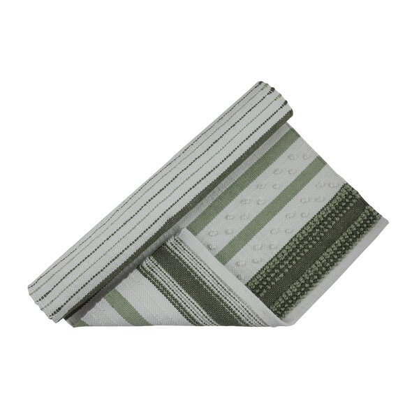 Handwoven Gray/Green Rug