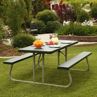 folding picnic table portable quickview folding picnic tables youll love wayfair