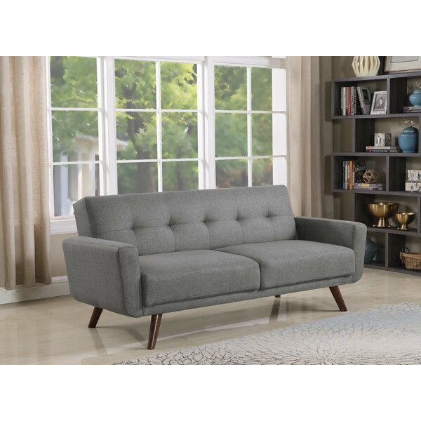 Fortson Upholstered Tufted Convertible 82.5