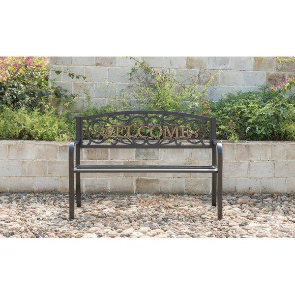 Amerigo Durable Steel Garden Bench