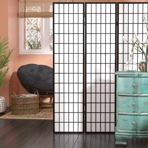 Triana Gia 3 Panel Room Divider by World Menagerie