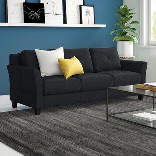 Ibiza Microfiber 80.3 Flared Arm Sofa by Zipcode Design