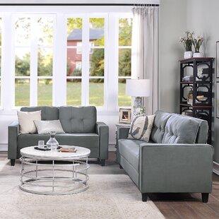 Gilsdorf 7 Piece Velvet Living Room Set by Ebern Designs