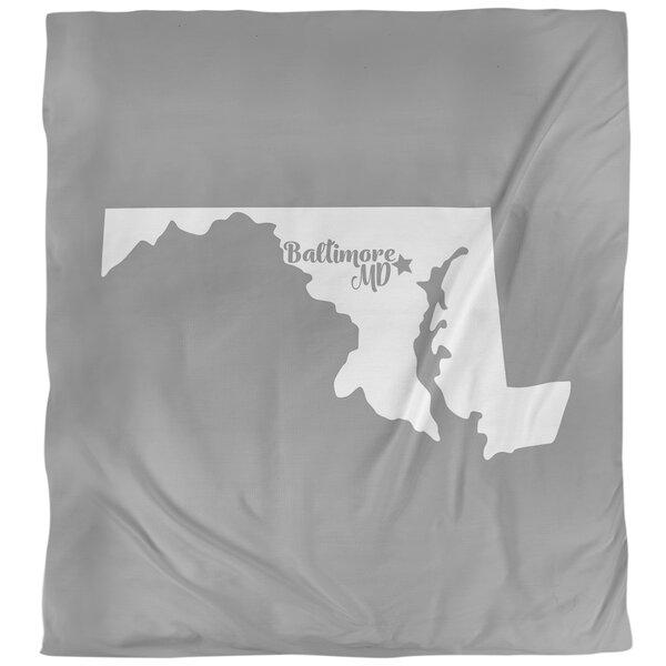 Maryland Baltimore Single Duvet Cover