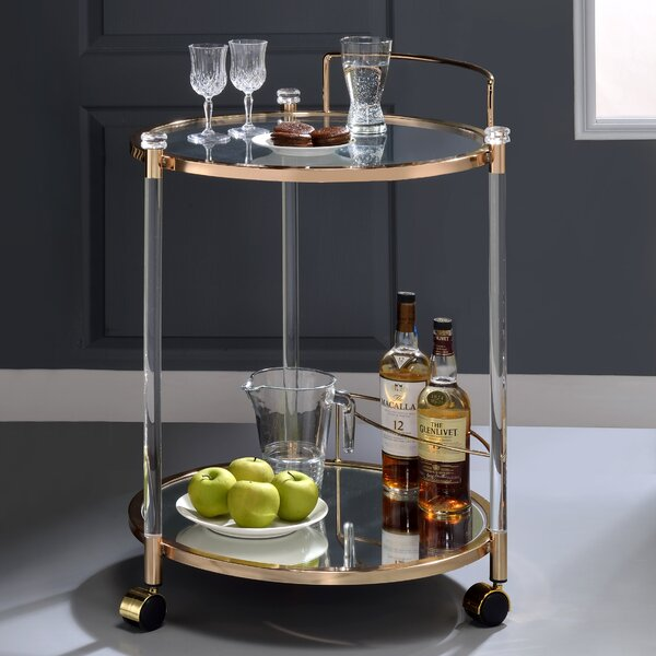 Millwright Bar Cart by Mercer41