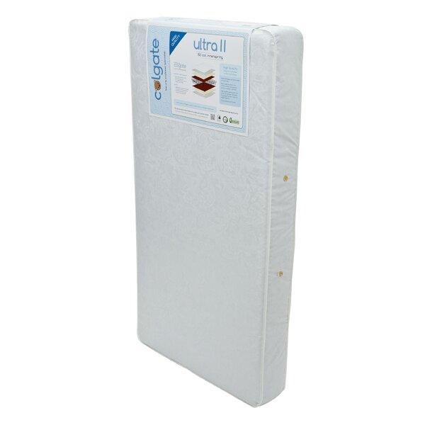 Ultra II 150 Coil Innerspring Crib Mattress by Col