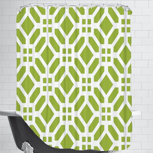 Weave Shower Curtain by East Urban Home
