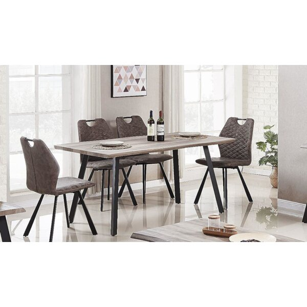 Javen Live Edge 5 Piece Dining Set by 17 Stories