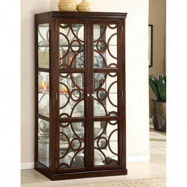 Bensenville Curio Cabinet by Brayden Studio