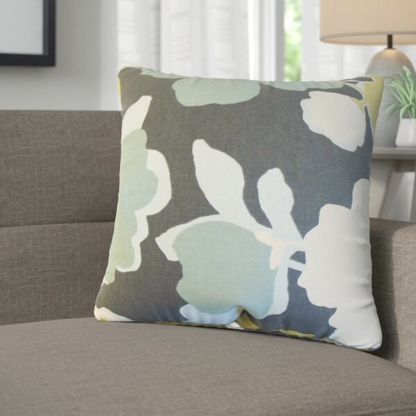 Janae Floral Cotton Throw Pillow (Set of 2) by Corrigan Studio