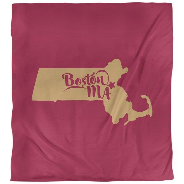 Boston Massachusetts Duvet Cover Set