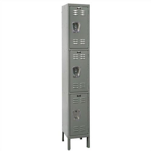 Premium 3 Tier 1 Wide School Locker by Hallowell