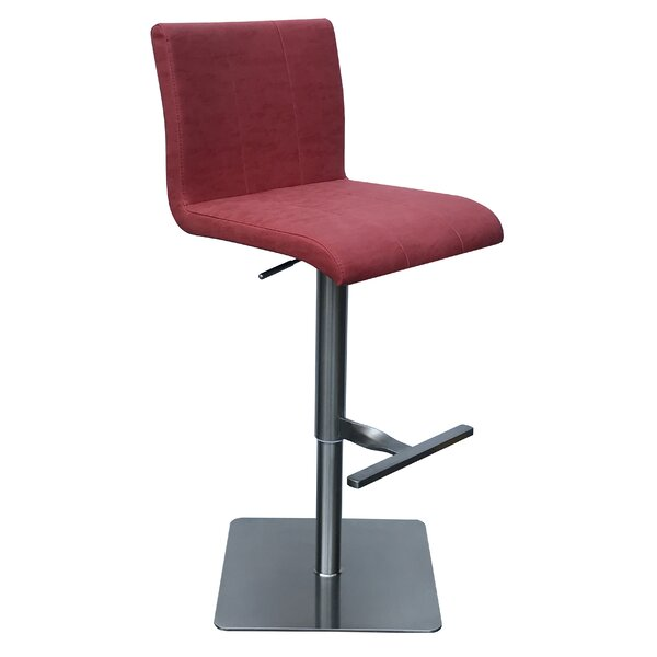 Bair Adjustable Height Swivel Bar Stool by Orren Ellis