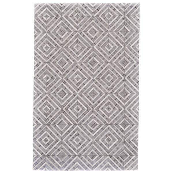 Pierce Handwoven Ivory/Slate Area Rug by Union Rustic