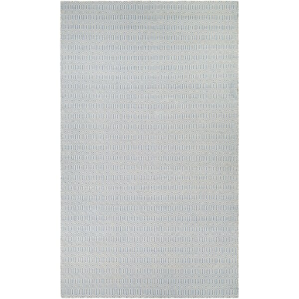 Alonso Hand-Woven Reversible Gray Indoor/Outdoor Area Rug by Viv + Rae