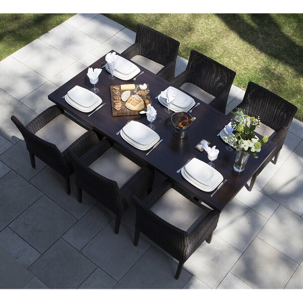 Majorca 7 Piece Dining Set by Ove Decors