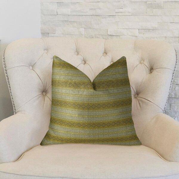 Full Stripe Handmade Throw Pillow by Plutus Brands