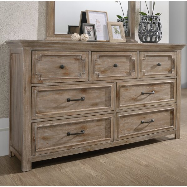 Tyne 7 Standard Dresser/Chest by Three Posts