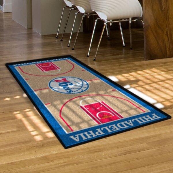 Nba - Philadelphia 76ers Nba Court Runner Doormat By Fanmats.