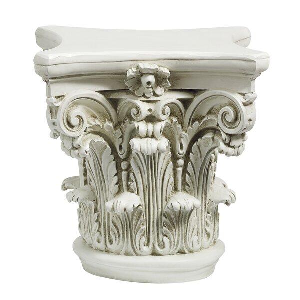 The Corinthian Pedestal by Design Toscano