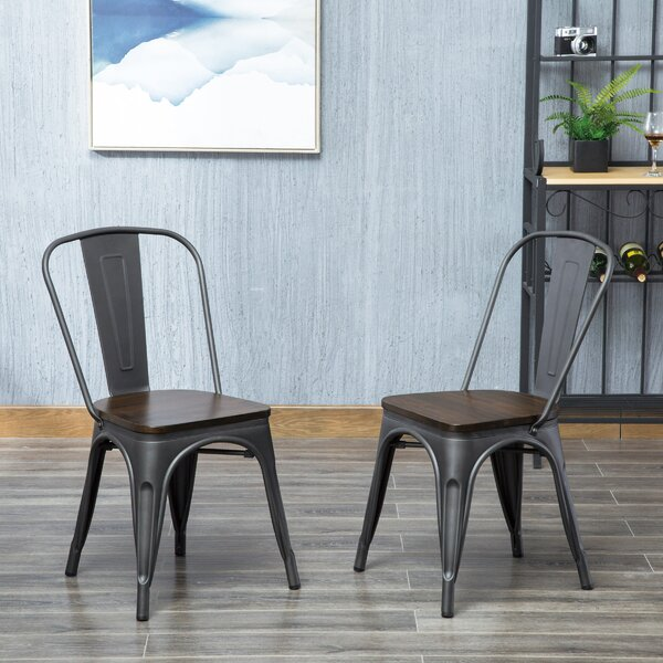 Beavers Dining Chair (Set of 2) by Williston Forge