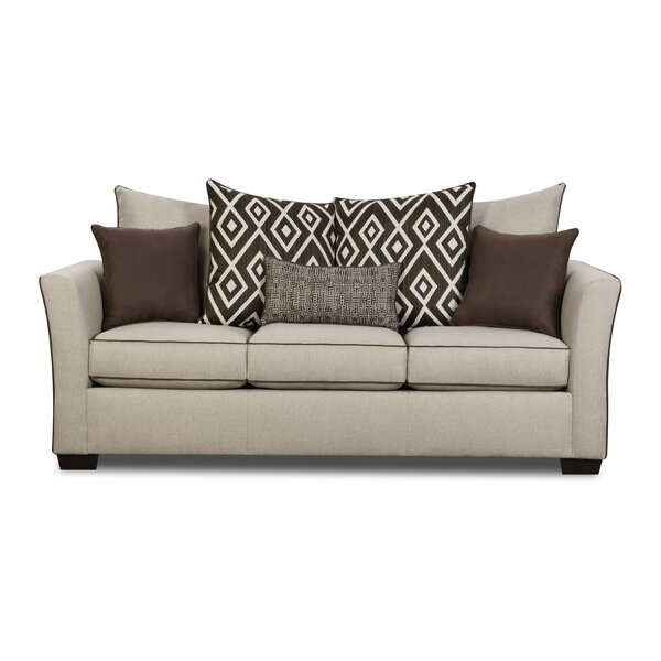 Simmons Upholstery Woodbridge Sleeper Sofa by Wrought Studio