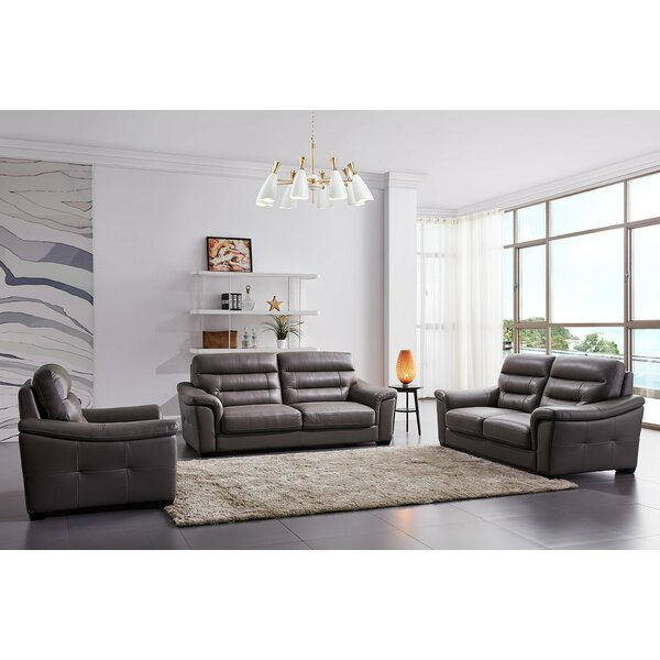 Earle 3 Piece Living Room Set by Orren Ellis