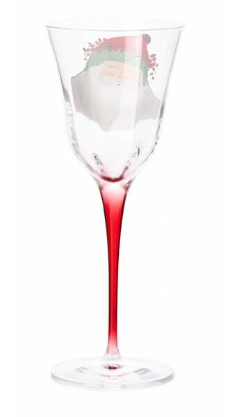 Old St Nick 9 oz. Glass All Purpose Wine Glass by VIETRI