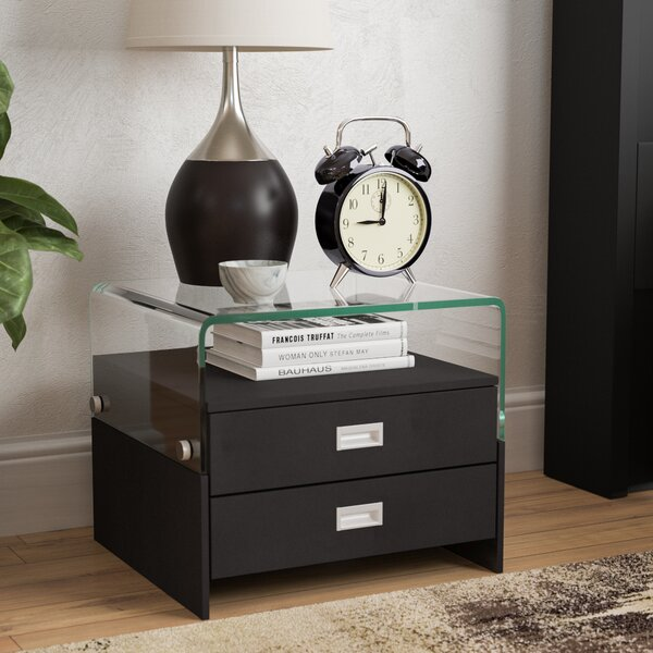 Avyan 2 Drawer Nightstand by Wade Logan