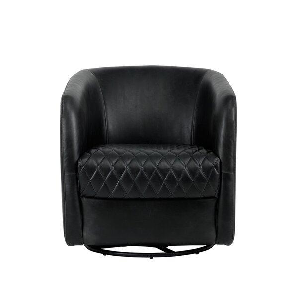 Taro Swivel Barrel Chair by Brayden Studio Brayden Studio
