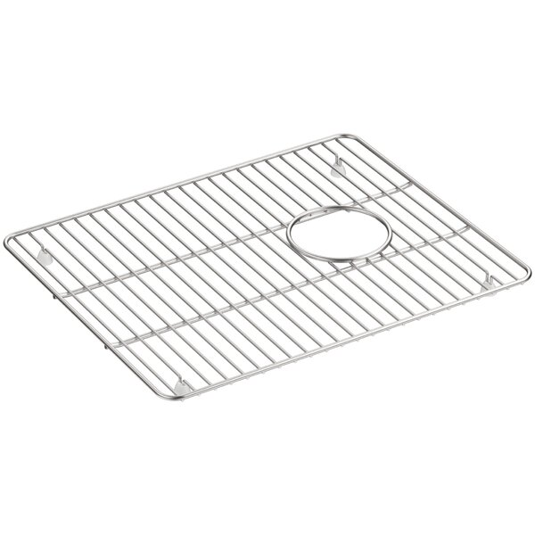 Cairn™ Stainless Steel Sink Rack, 17-1/4 x 14, for Large Bowl by Kohler