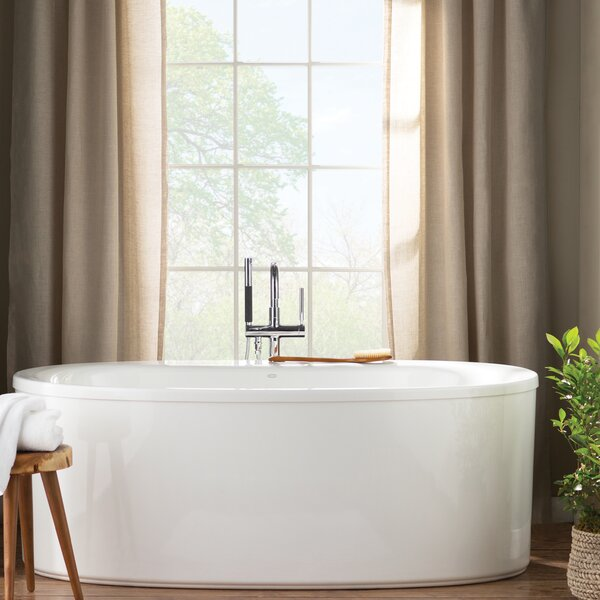 Sunstruck 66 x 36 Freestanding Soaking Bathtub by Kohler
