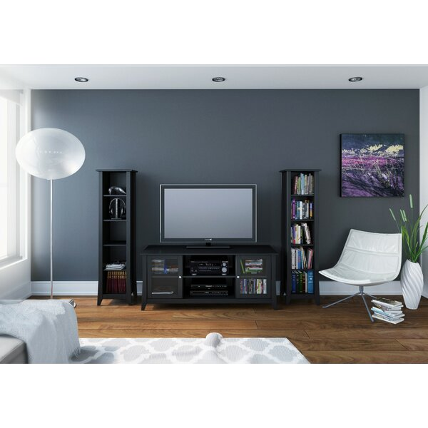 Alesha Wood Frame Entertainment Center by Zipcode Design