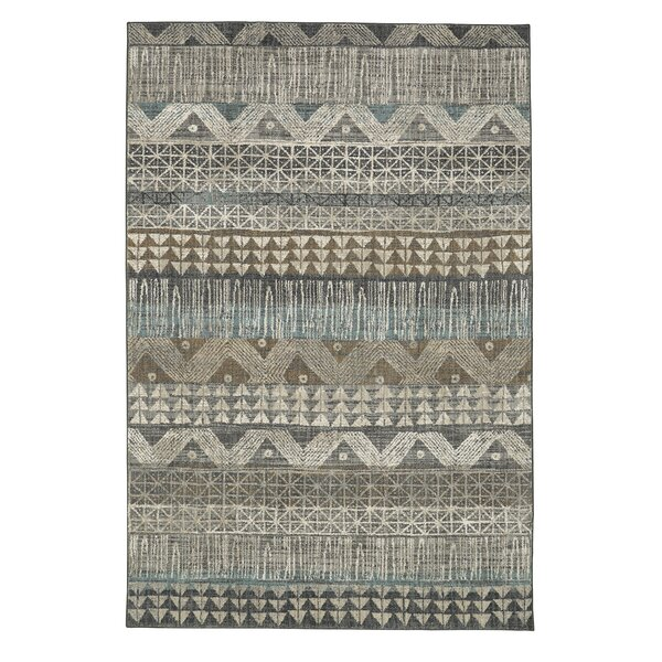 Amya Gray Area Rug by Bungalow Rose