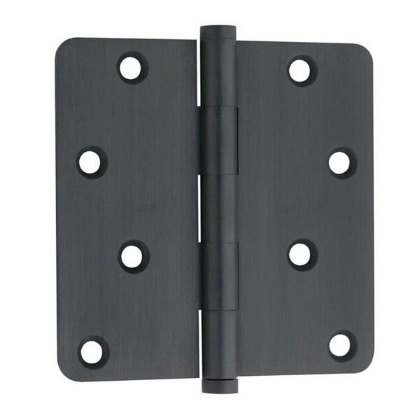 4 H x 4 W Spring Single Door Hinge by Baldwin